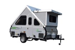 the lxe aliner at camper care ohio camper sales